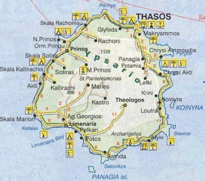 Обиколка на Тасос