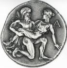 Монета сечена на остров Тасос