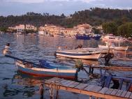 Лименас, поглед от пристанището