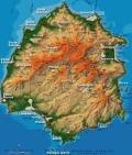 карта на остров Тасос